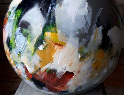 Beschilderde vazen